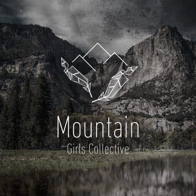 logo mountains girls collective