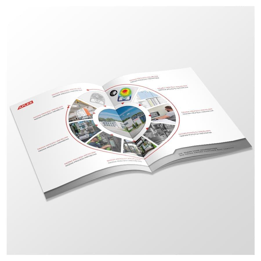 aplex catalogue design